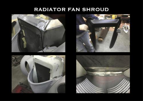 11 RADIATOR FAN SHROUD 1